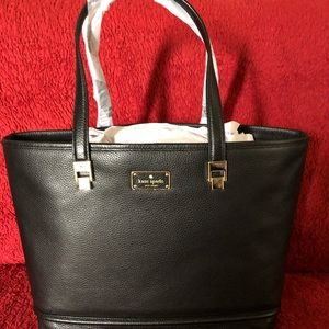 NEW** KATE SPADE NEW YORK TAREN LEATHER TOTE